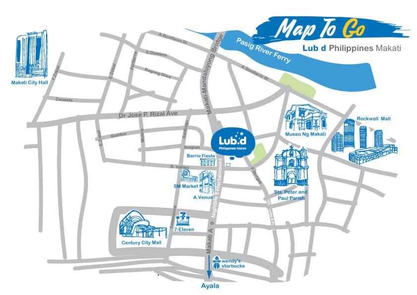 Map Philippines Makati