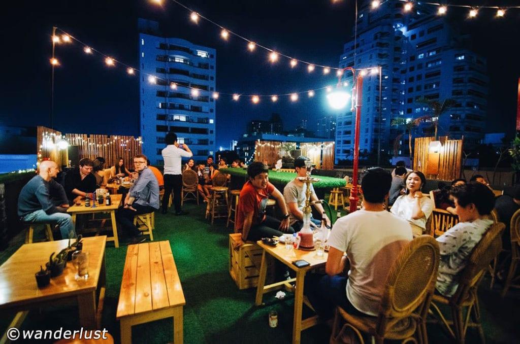 Wanderlust Rooftop Bar Bangkok